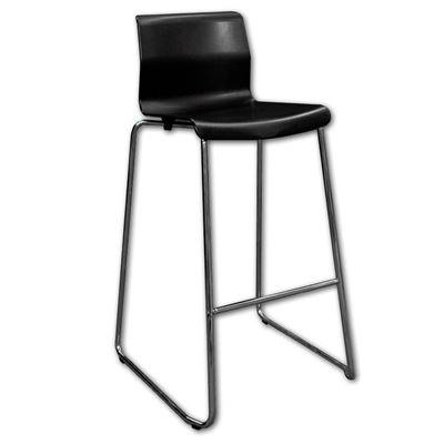 Picture of Bar chair premium black (UNIT)