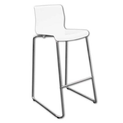 Picture of Bar chair premium white (UNIT)